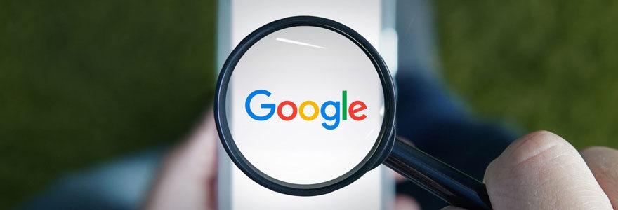 site n'apparaît pas sur Google